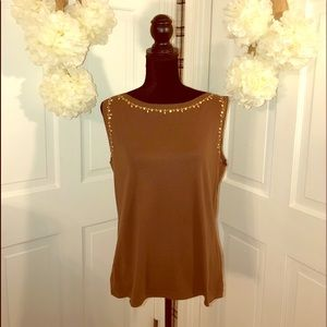 Dressbarn  Women's Sequins & Pearl Shell